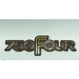 CB750F Sidepanel Emblem  750 FOUR