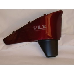 VT600C Shadow Sidepanel Right hand bordeaux red