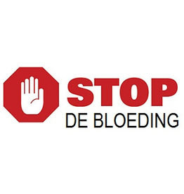 Stop de Bloeding Stop de bloeding sticker