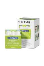 Cederroth Salvequick 6pack - 6943 navulling 43 non–woven