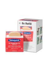 Cederroth Salvequick 6pack - 6454 navulling 15 vingertop XL