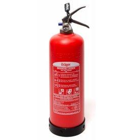Drager Dräger onderhoudsvrije brandblusser poeder