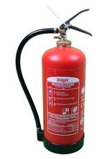 Drager Dräger composiet brandblusser 9 liter schuim
