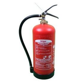 Drager Dräger brandblusser 9 liter schuim