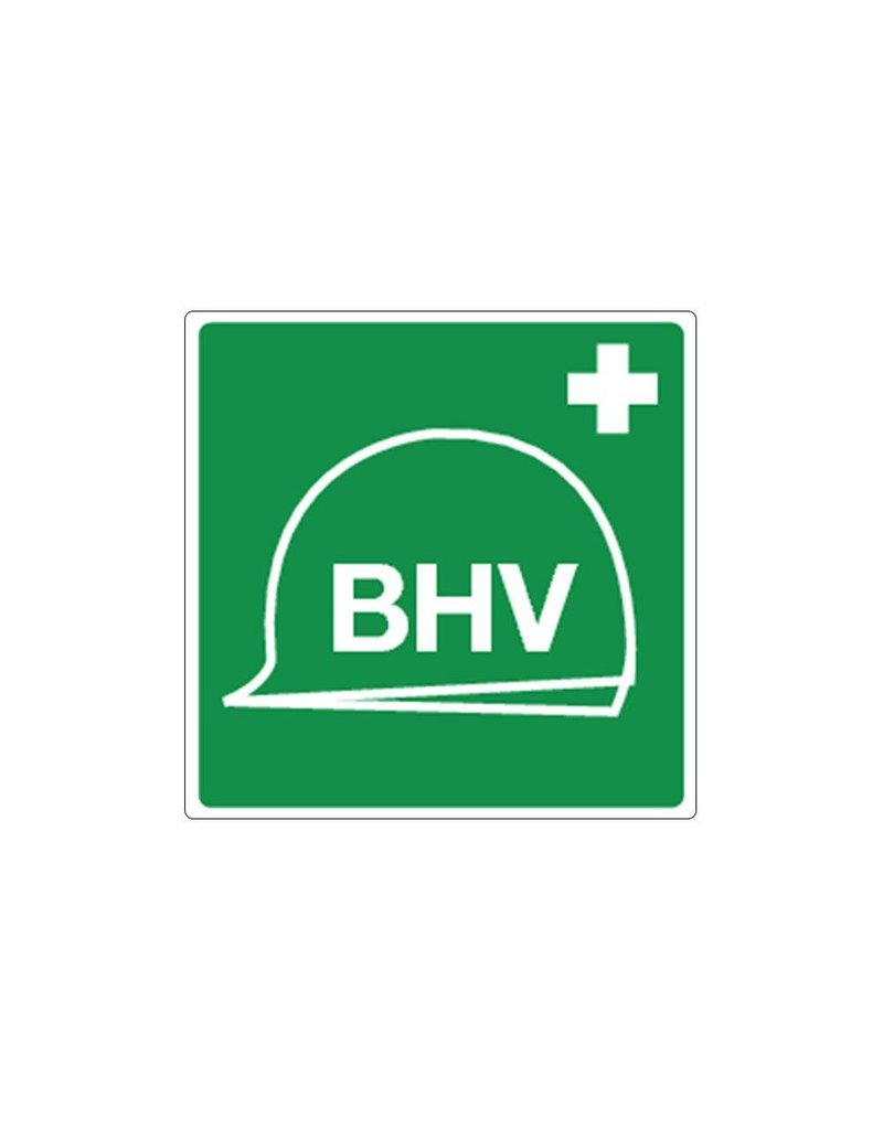 BHV-materiaal pictogram sticker