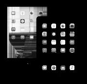 Apple iPad Mini Retina LCD beeldscherm