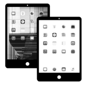 Apple iPad Mini 3 LCD Beeldscherm