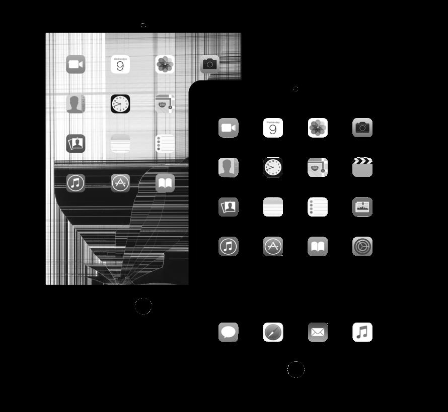 iPad 2 display vervangen