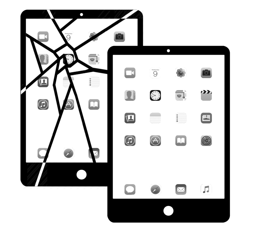 iPad 2 scherm vervangen