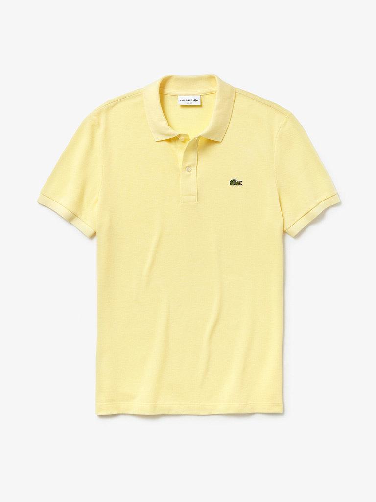 Shirt Slim Fit Lacoste Yellow Napolitan Polo PTXZOkiu