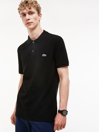 ca6f2a709 Lacoste Slim Fit Polo Shirt Black