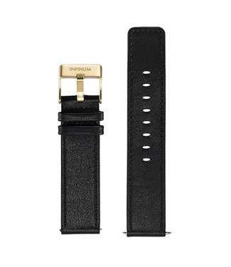 Firmitudo Firmitudo | Black Leather | Gold Buckle