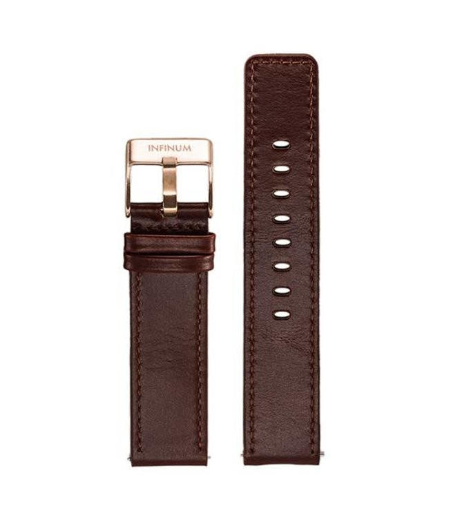 Firmitudo Firmitudo | Brown Leather | Rose Gold Buckle