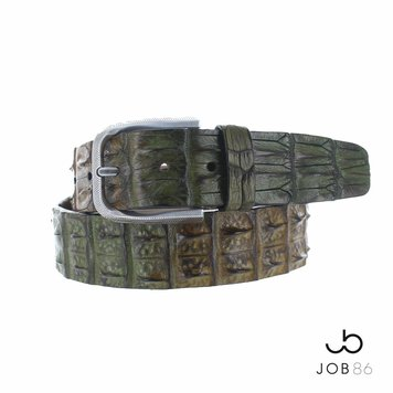 JOB86 Handpainted krokodillen riem | Jungle