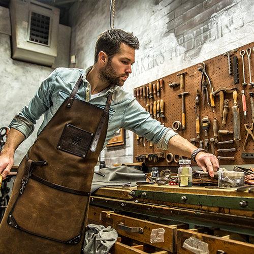 Klasse en vakmanschap bij Jan Pulles Leather Company