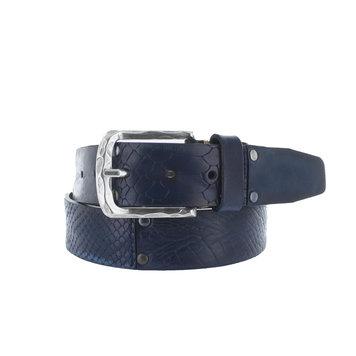 JOB86 Enzo |  Multi jeans riem | Blauw