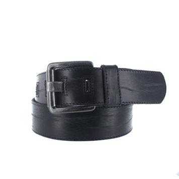 JOB86 Stefano | Vintage  jeans riem | Zwart