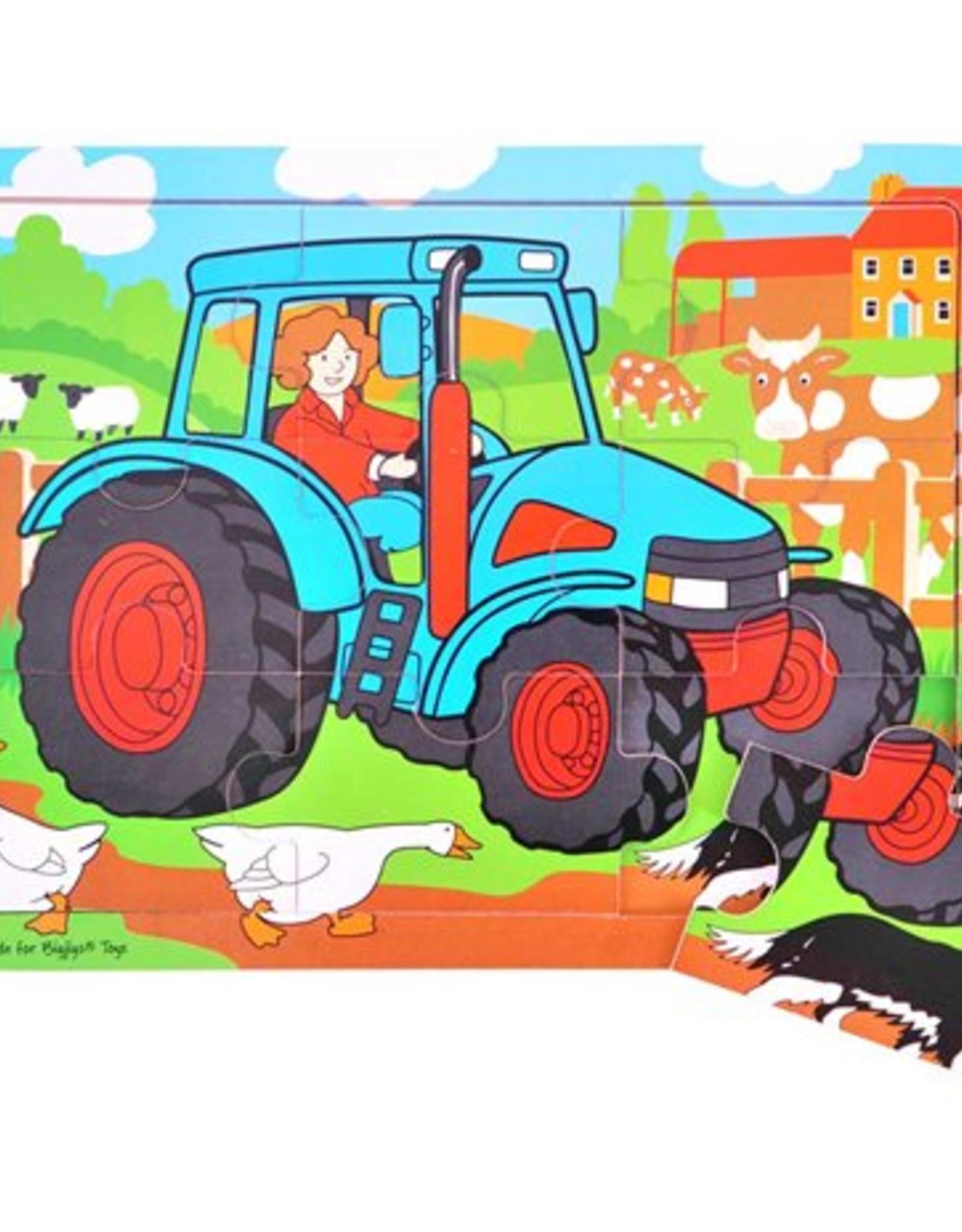 Bigjigs Tractor 2+