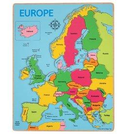 Bigjigs Puzzel Europa 3+
