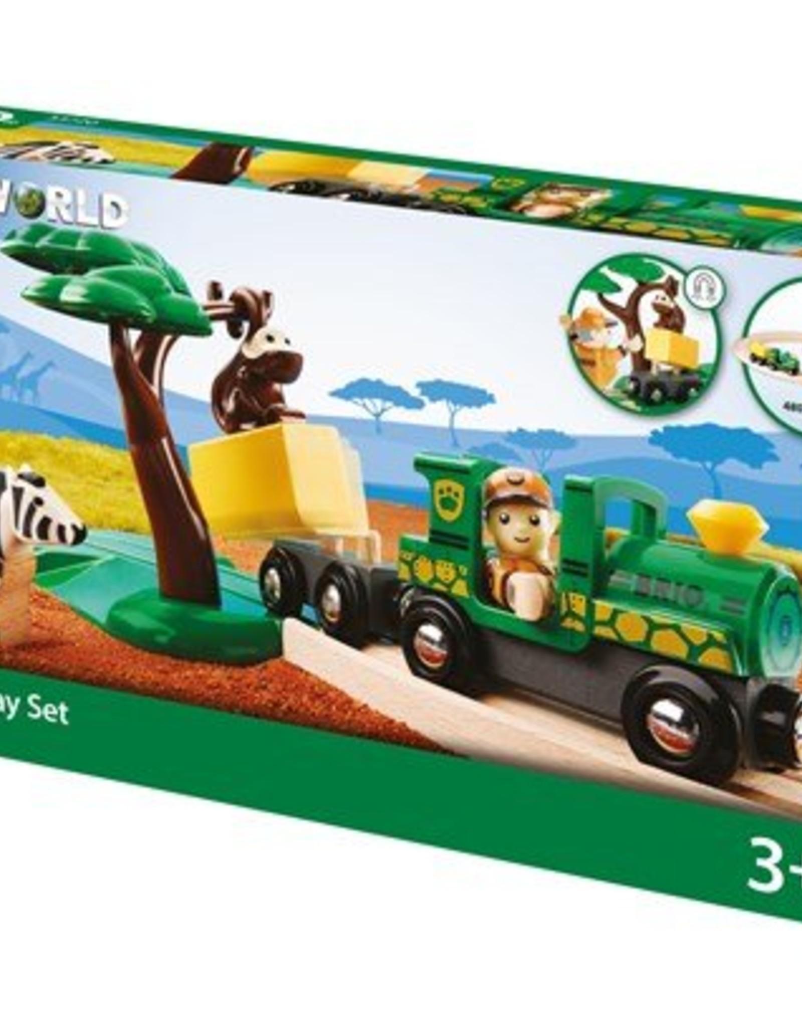 Brio Treinset Safari