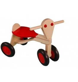 Van Dijk Toys Loopfiets Rood