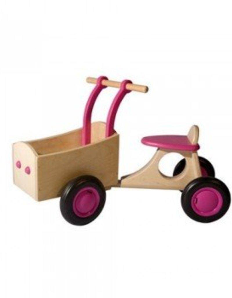 Van Dijk Toys Bakfiets Roze