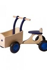 Van Dijk Toys Bakfiets Blauw