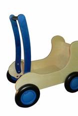 Van Dijk Toys Combi Popwagen Blauw