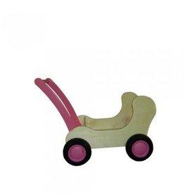 Van Dijk Toys Combi Popwagen Roze