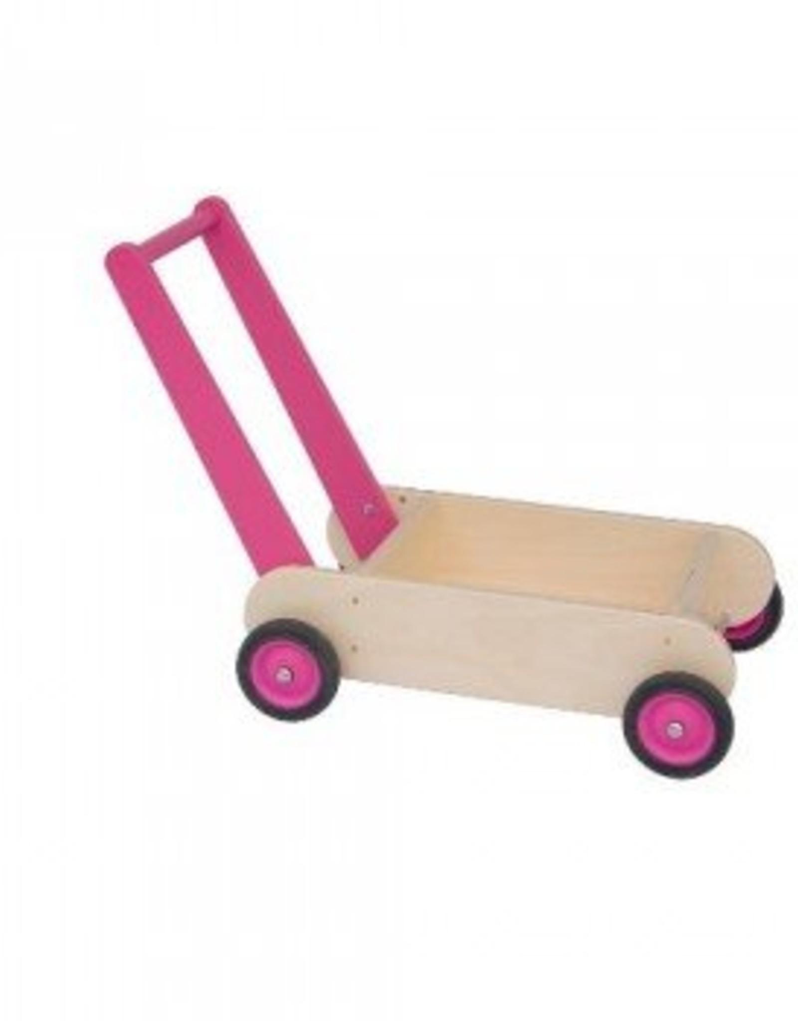 Van Dijk Toys Loopwagen Roze