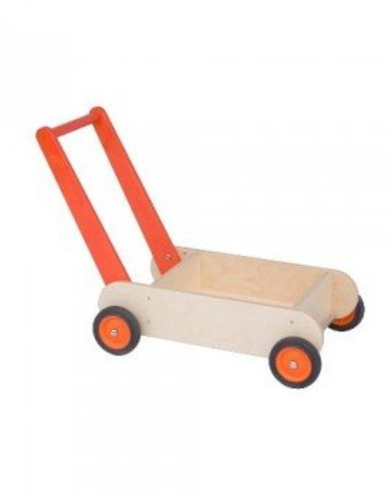 Van Dijk Toys Loopwagen Oranje