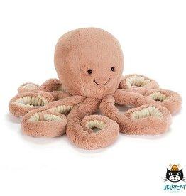 Jellycat Odell Octopus Klein