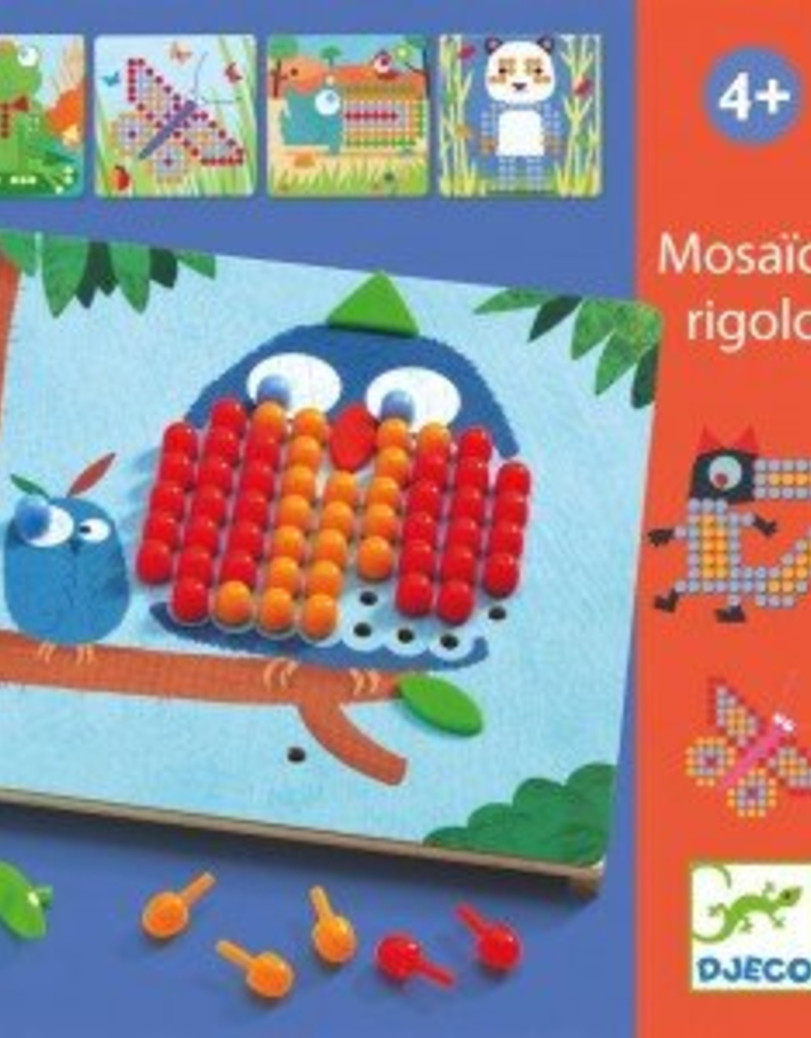 Djeco Mosaico Rigolo