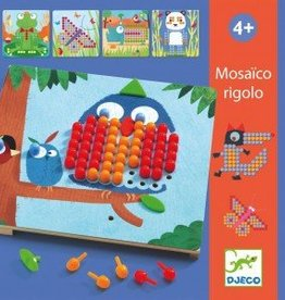 Djeco Mosaico Rigolo 4+