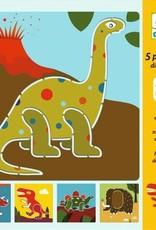 Djeco Sjablonen Dino