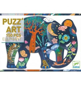 Djeco Puzzel Art Olifant
