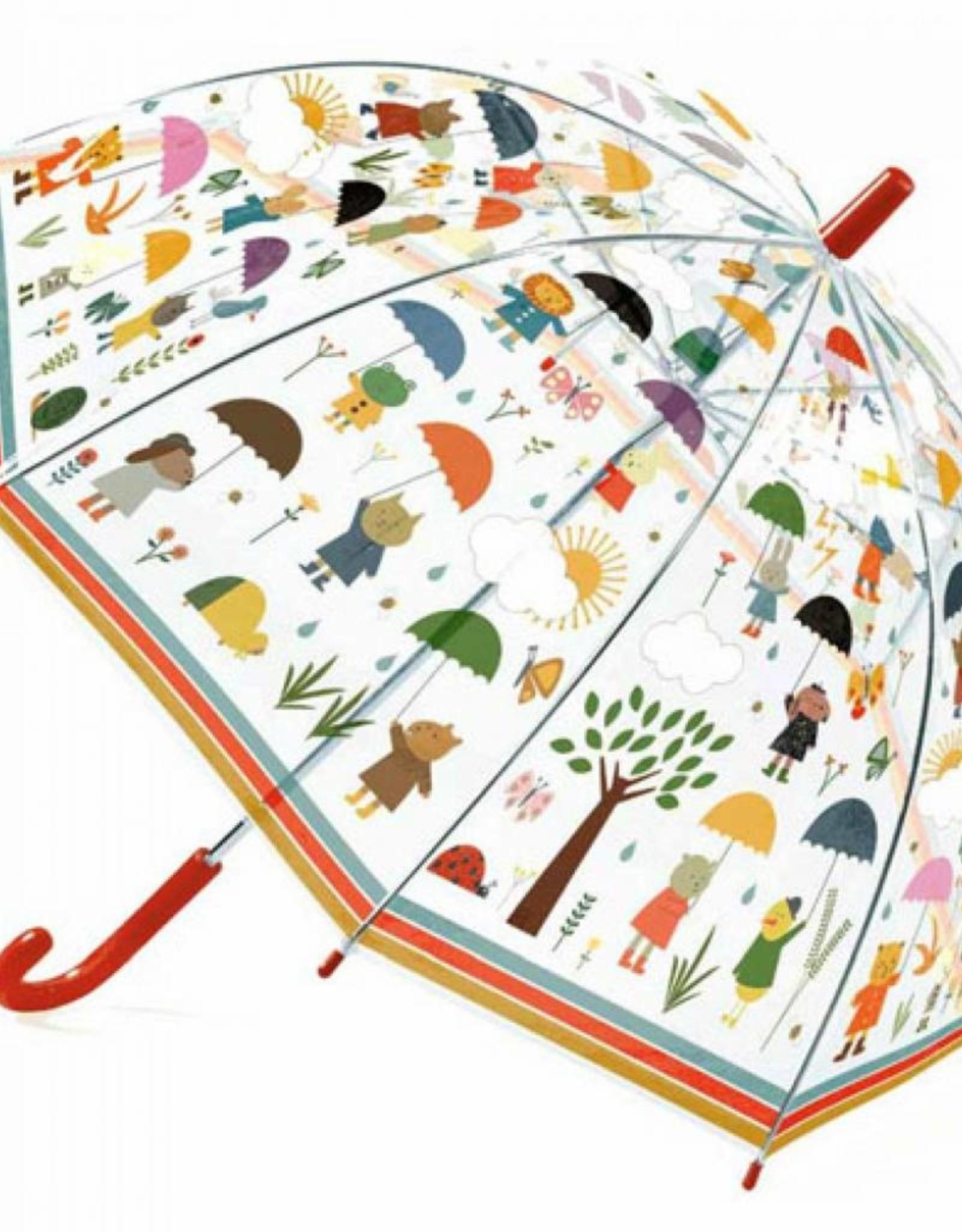 Djeco Paraplu Onder de regen