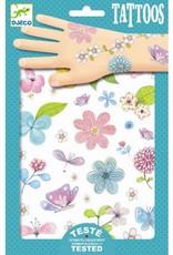 Djeco Tattoo Fair Flowers