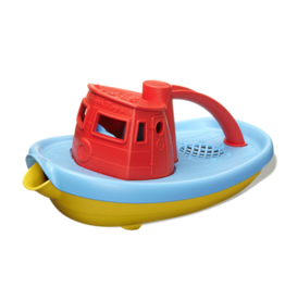 Green Toys Tugboat Rood