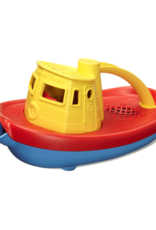 Green Toys Tugboat Geel