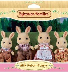 Sylvanian Families Milk Rabbit Familie