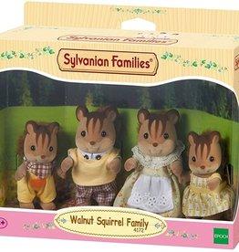 Sylvanian Families Walnut Squirrel Familie