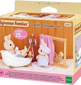 Sylvanian Families Bath Shower Set