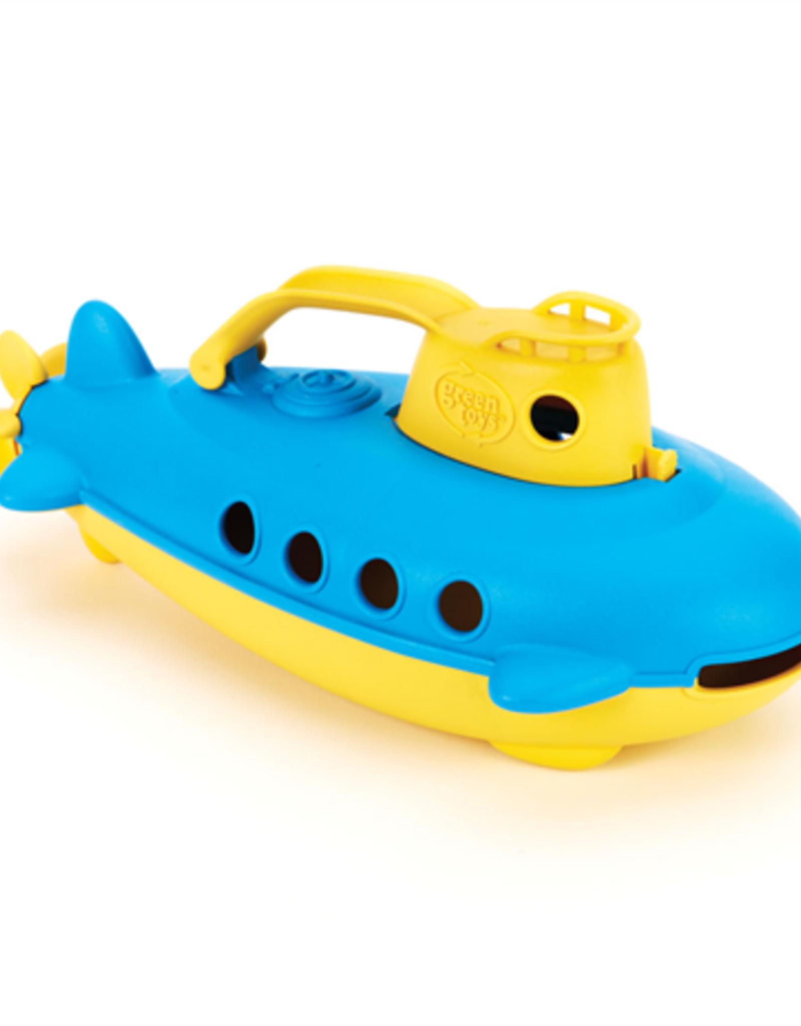 Green Toys Submarine Blauw