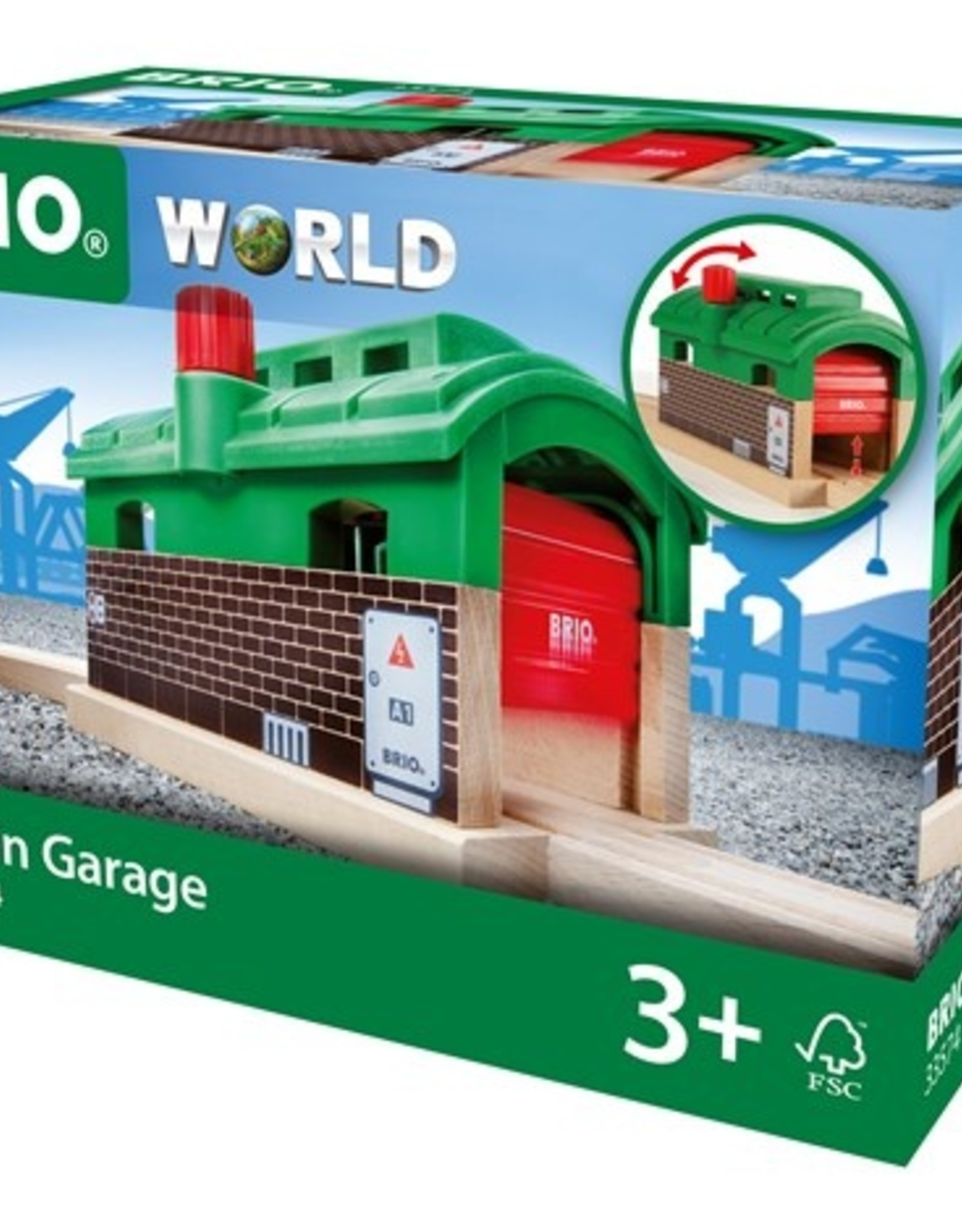 Brio Trein Garage