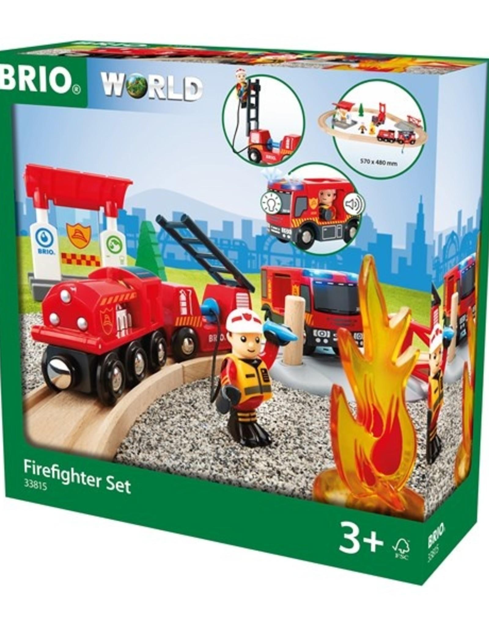 Brio Brandweerset