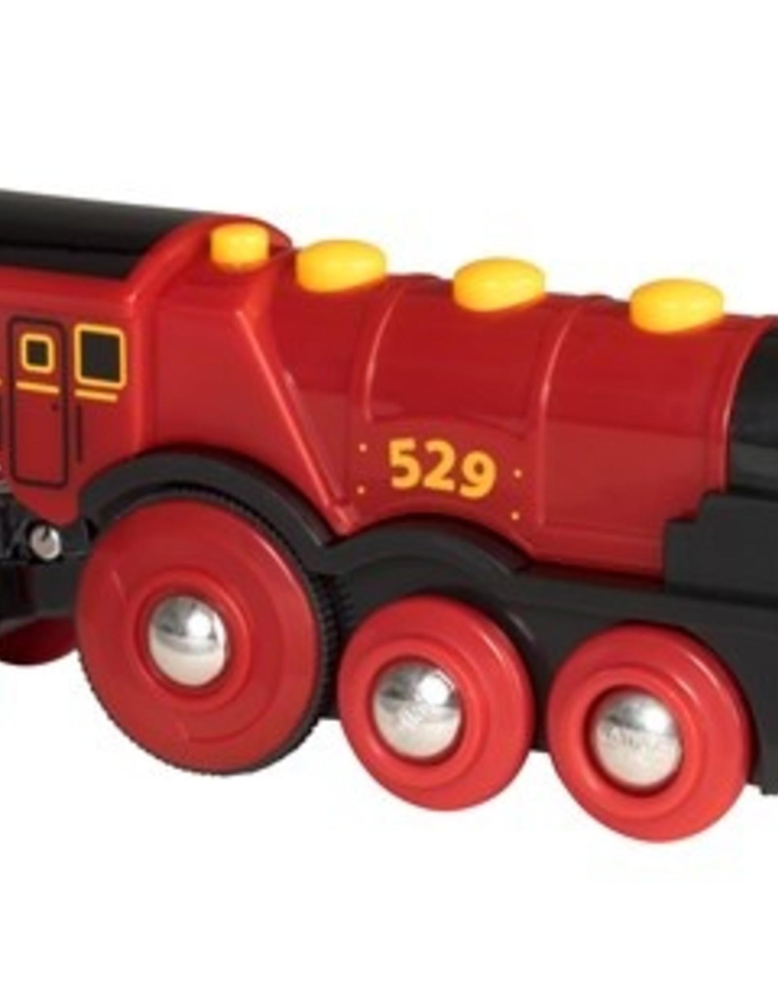 Brio Rode Locomotief