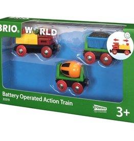 Brio Actietrein op Batterijen