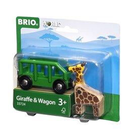 Brio Giraf en wagon