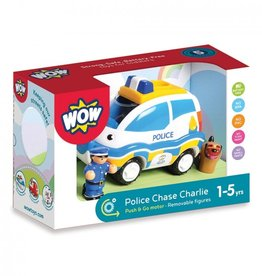 WOW Toys Charlie Chase Politieauto